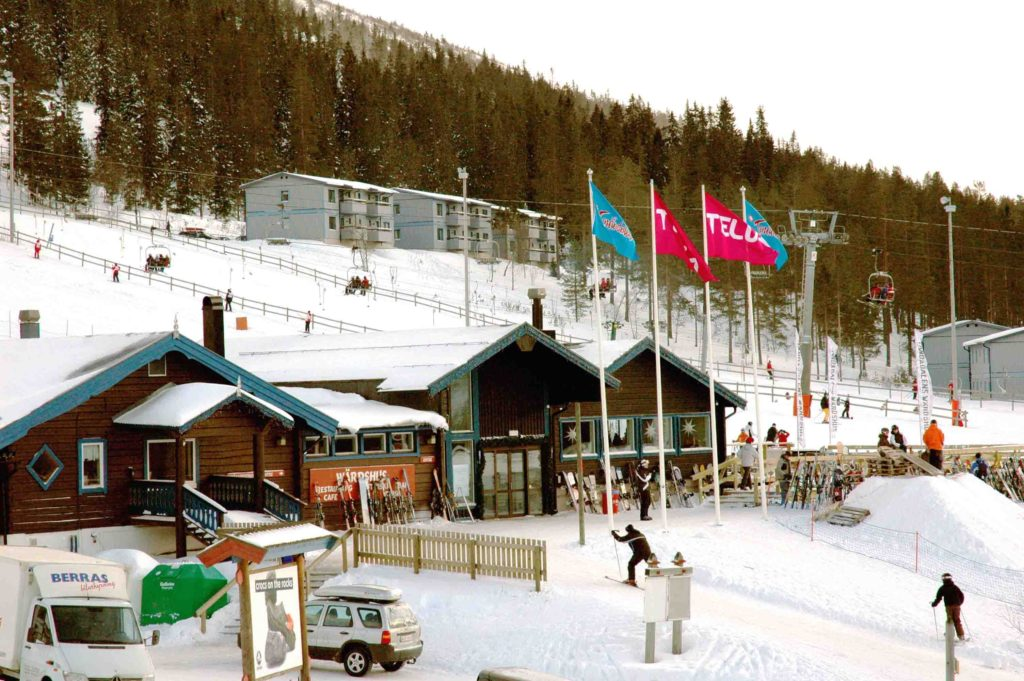 Ski-in-Ski-out Apartment Tandadalen Salen - Gra Byn 20A