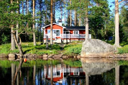 Vacation Rentals Sweden - Lake front property Nissången